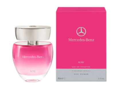 Парфюм для женщин Mercedes-Benz Rose EdT