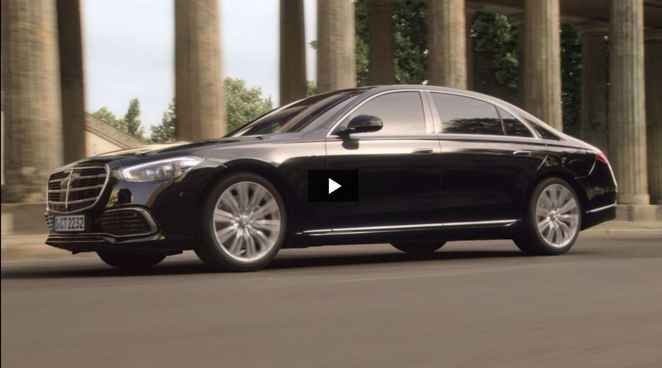 Новаторский дизайн Mercedes-Benz S-Class