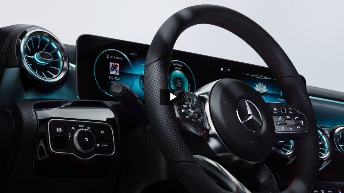 Інформаційно-розважальна система Mercedes-Benz User Experience.