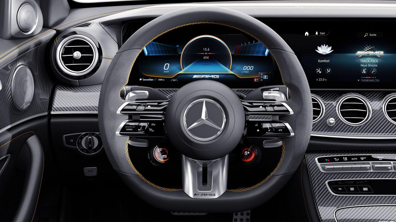 Нове покоління рульових коліс AMG