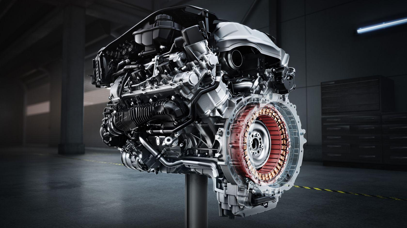 Бітурбо двигун V8 з 4-літровим об`ємом