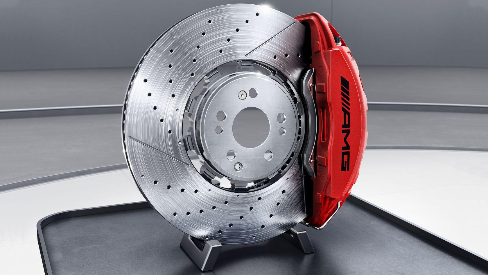 Продуктивна гальмівна система AMG