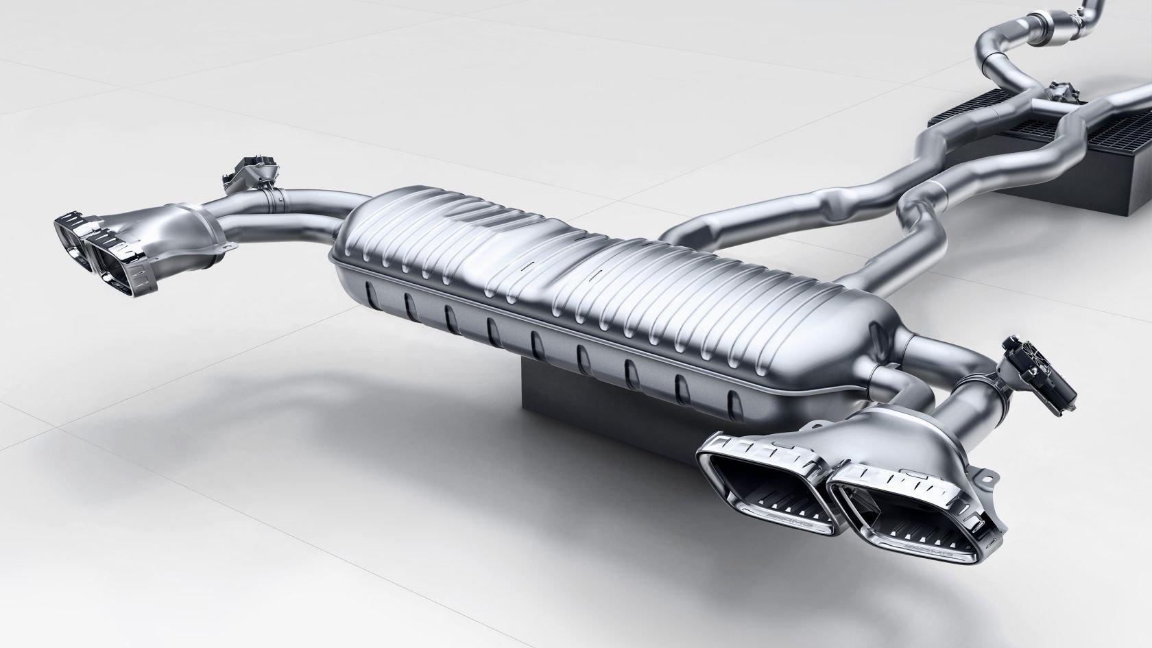 Система випуску відпрацьованих газів AMG Perfomance