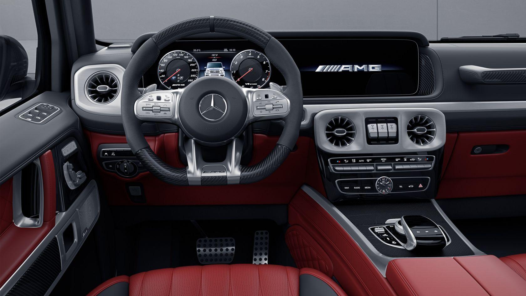 Рулевое колесо AMG Perfomance