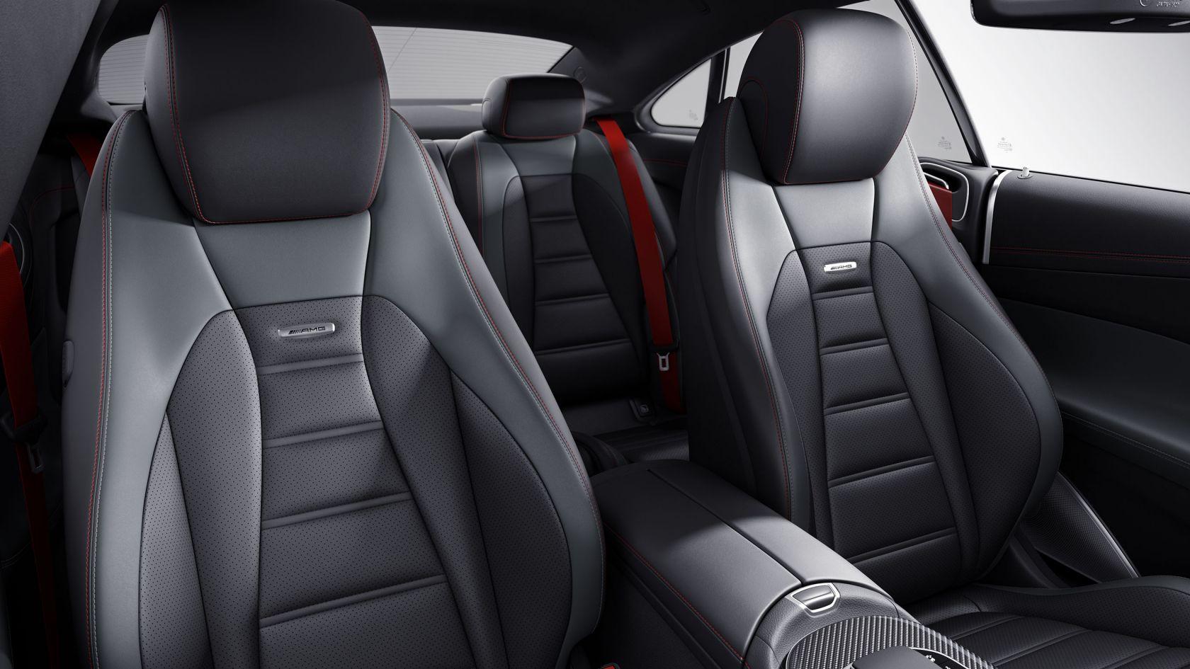 Сидіння AMG в дизайні з інтегрованим підголовником