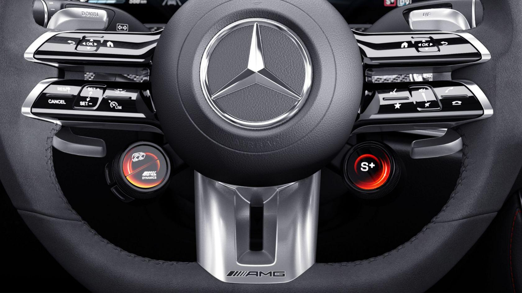 Кермові перемикачі AMG