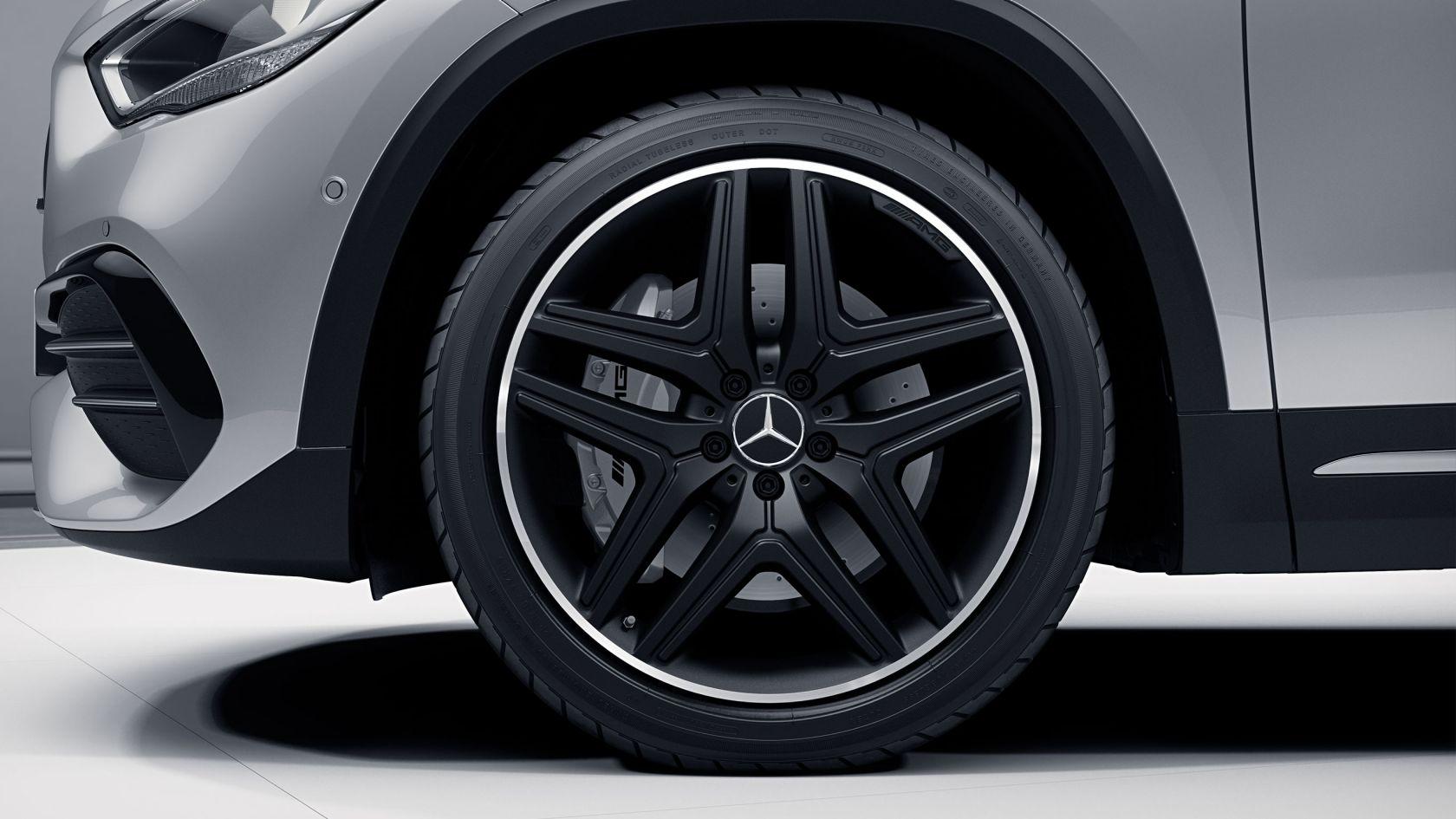 Легкосплавні диски коліс AMG