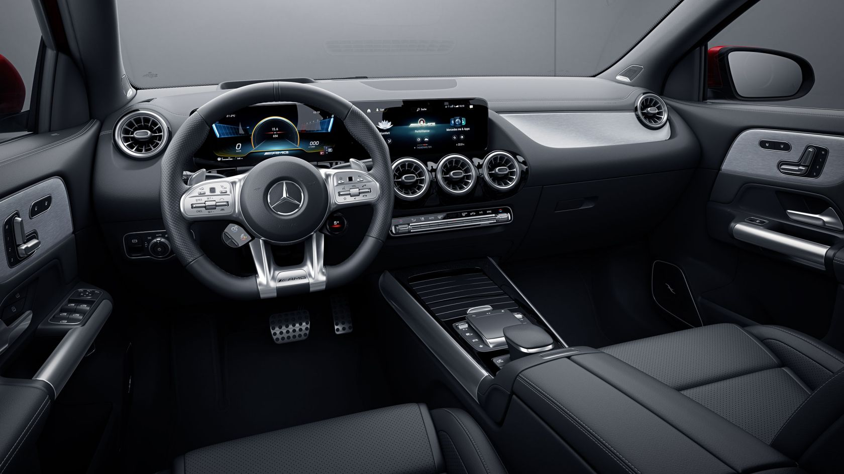 Передня панель AMG