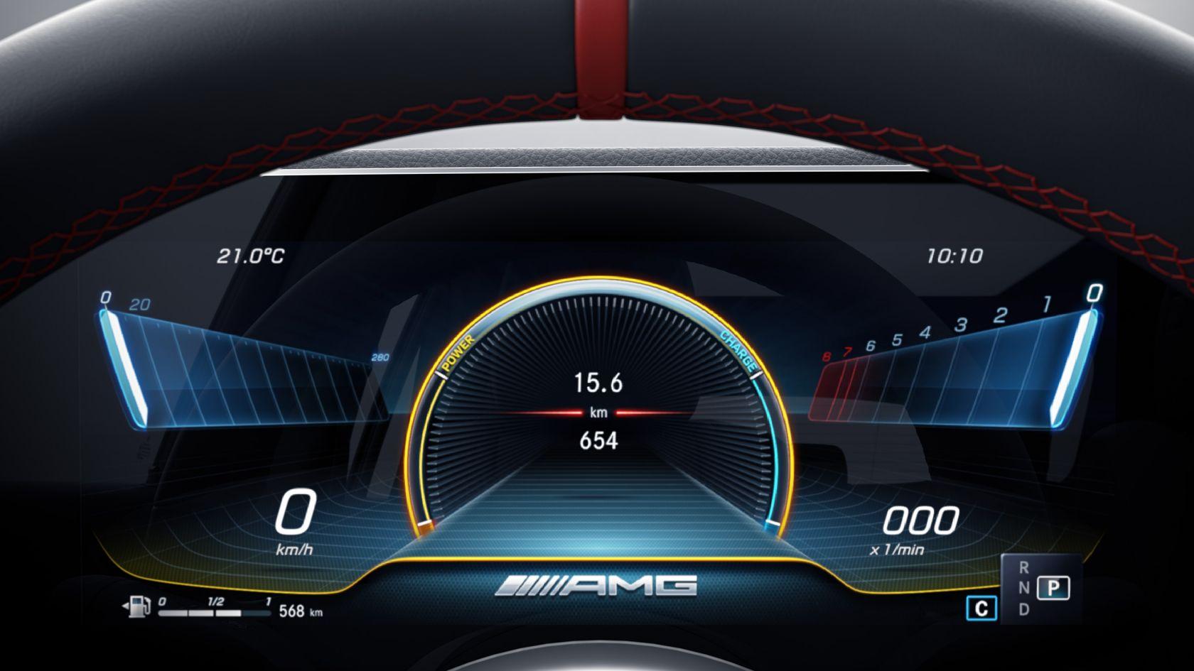 Комбинация приборов AMG