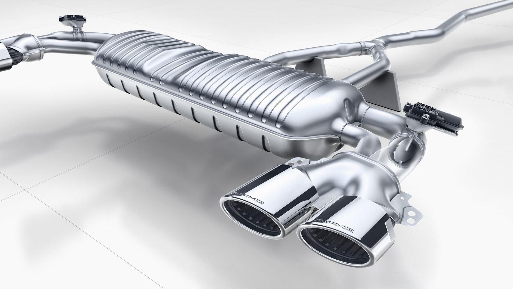 Система выпуска отработанных газов AMG Perfomance