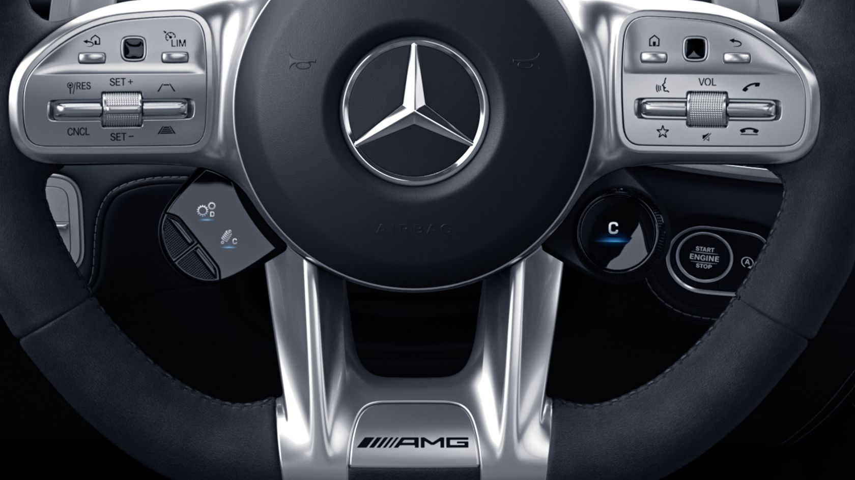 Рулевые переключатели AMG