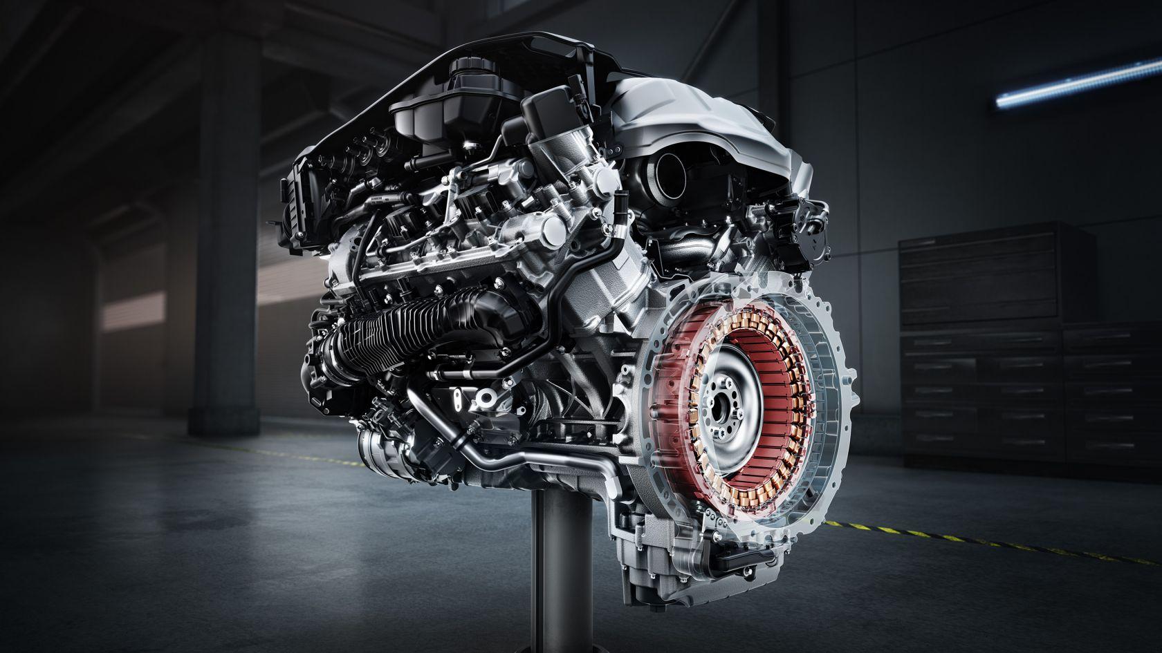 Двигатель V8 с двойным турбонаддувом