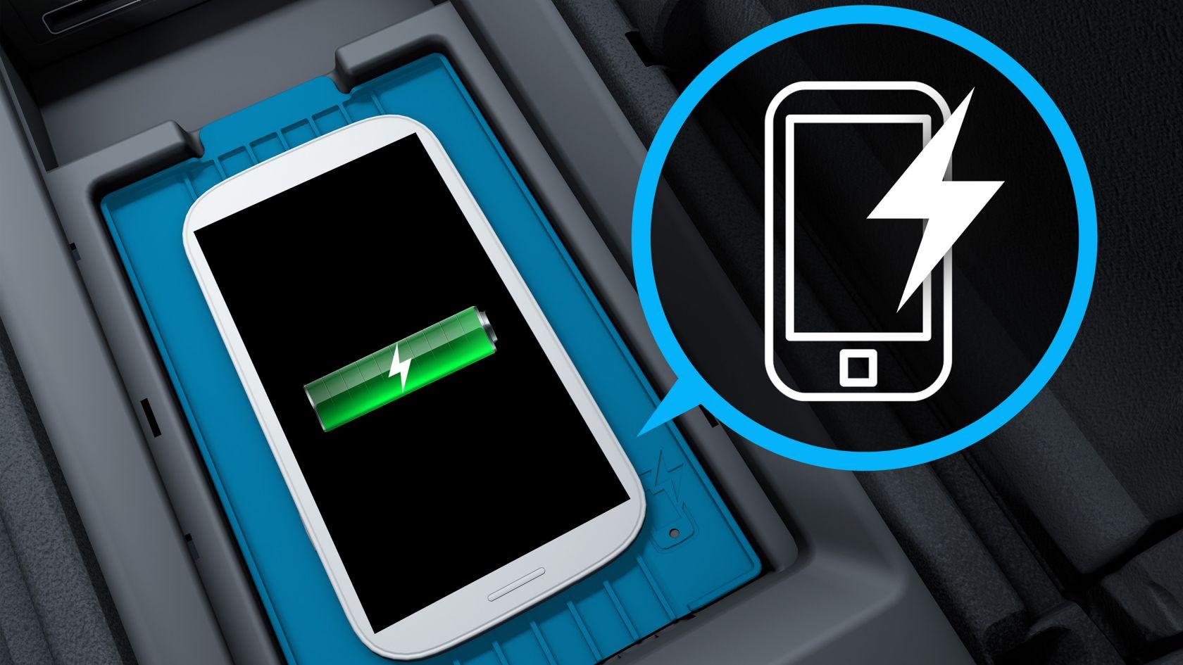 Беспроводная зарядка смартфонов