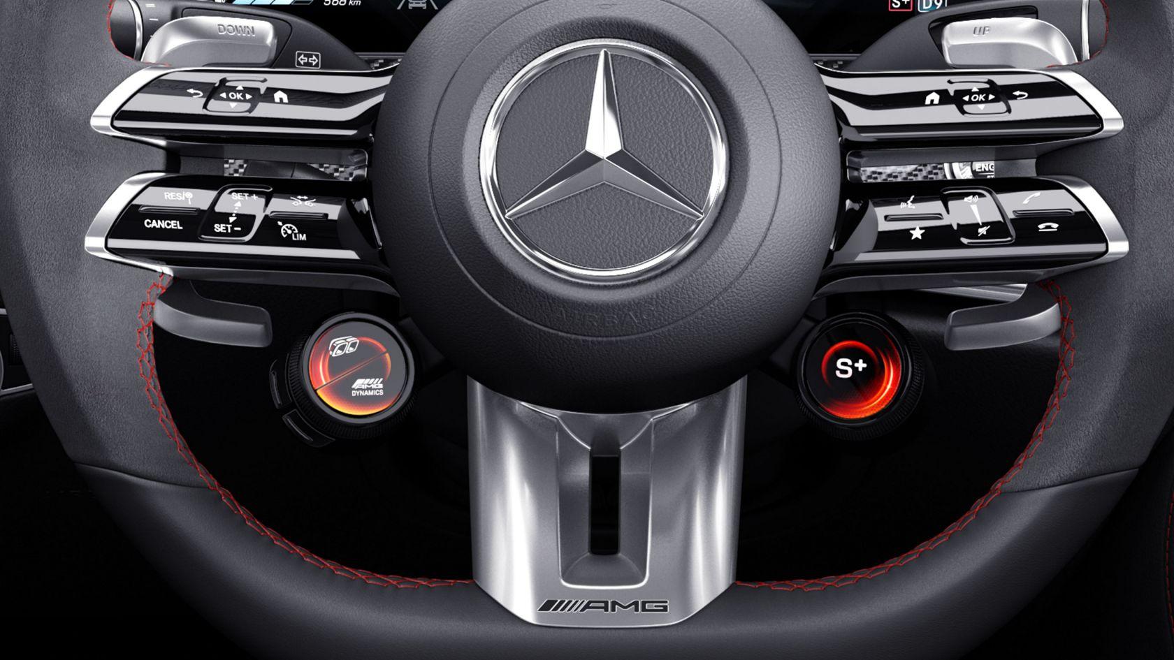 Перемикачі AMG на кермовому колесі