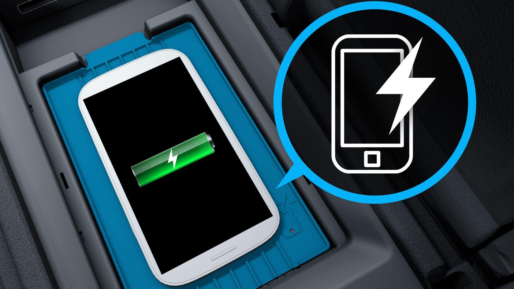 Бездротова зарядка смартфона