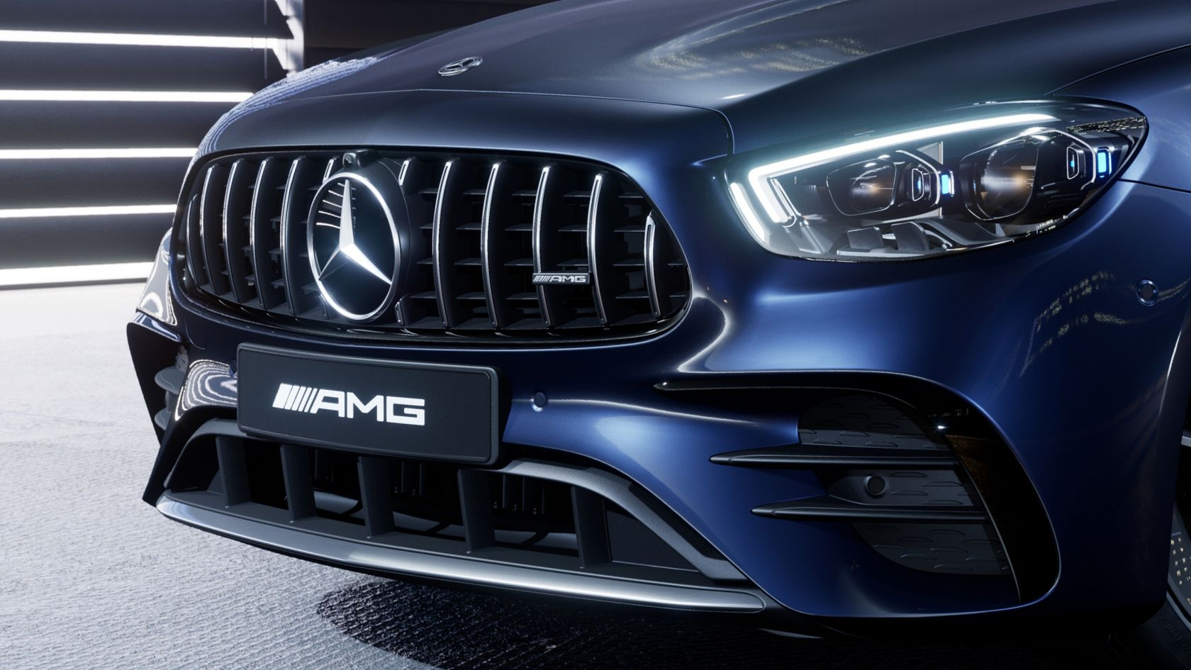 Передний бампер AMG