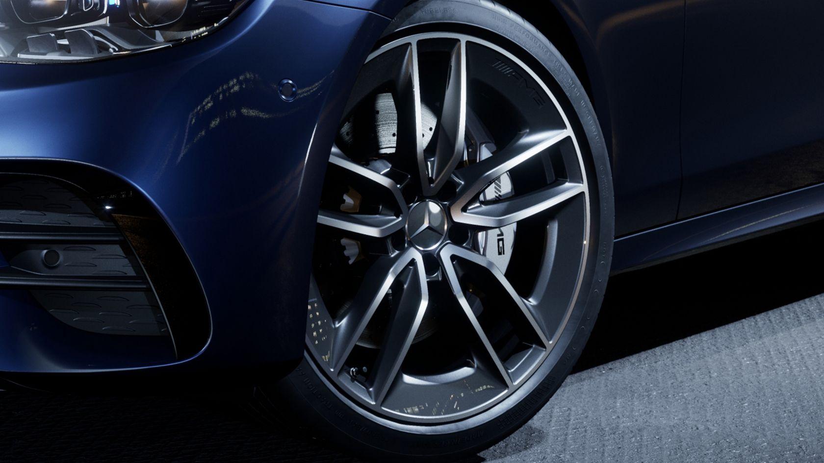 Легкосплавные диски колес AMG