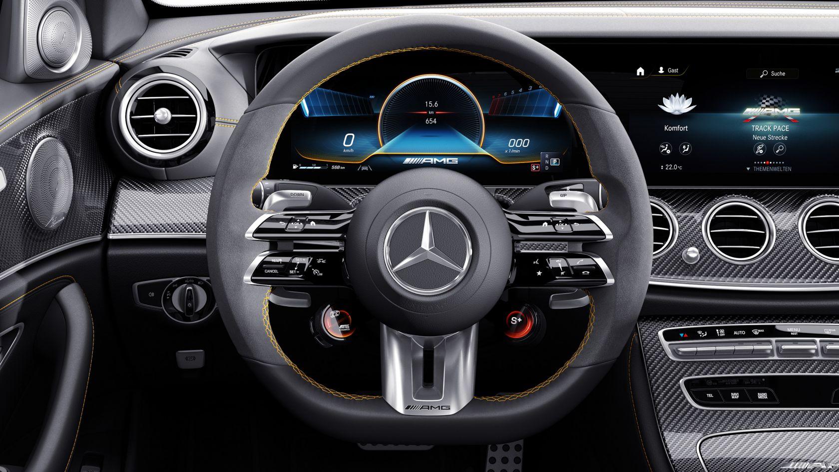 Рулевое колесо AMG