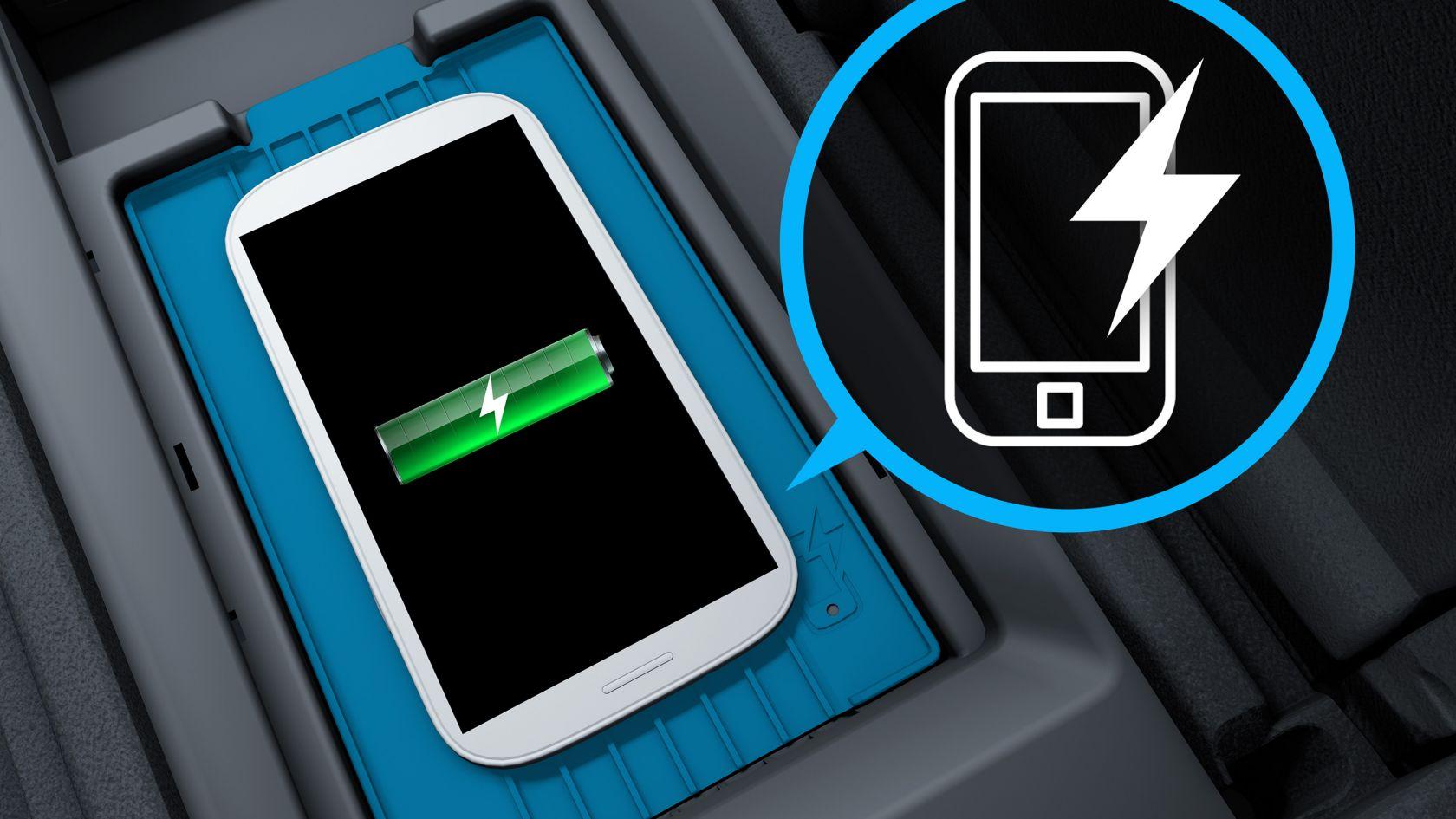 Беспроводная система подзарядки мобильных устройств