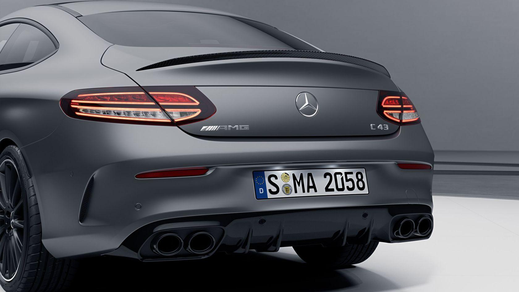 Система випуску відпрацьованих газів AMG Performance з можливістю перемикання