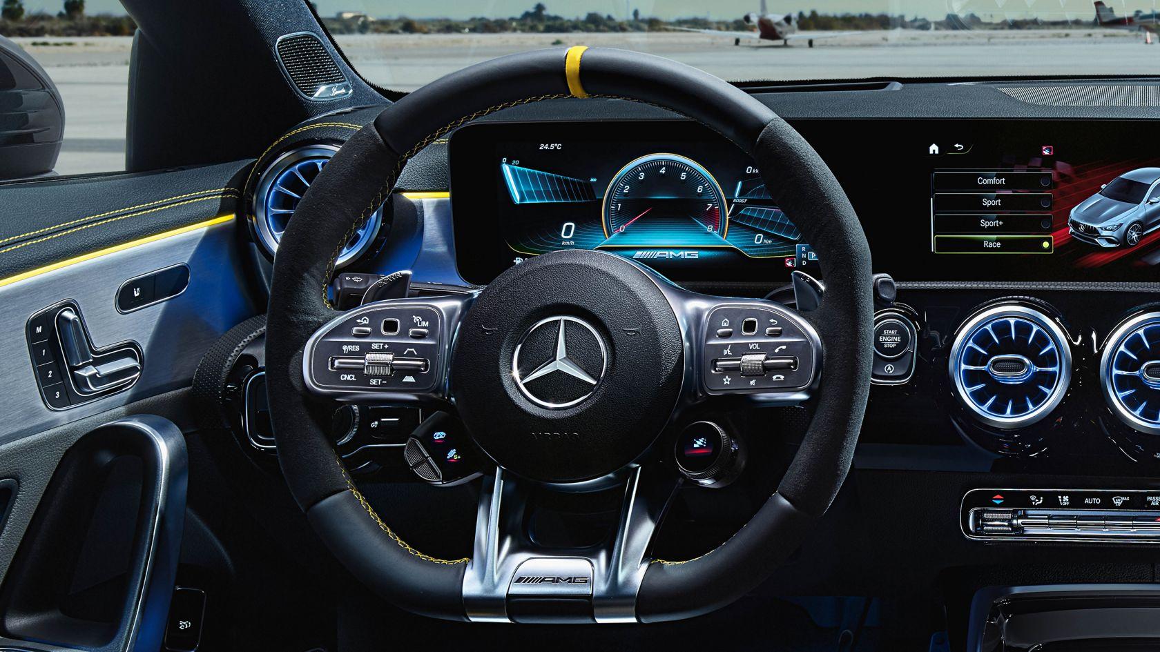 Рульове колесо AMG Performance