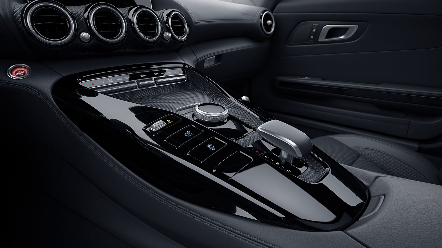 Декоративні матові елементи AMG Carbon