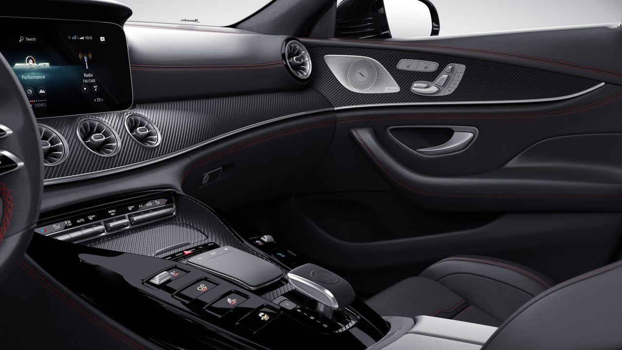 Декоративні елементи AMG з матового карбону