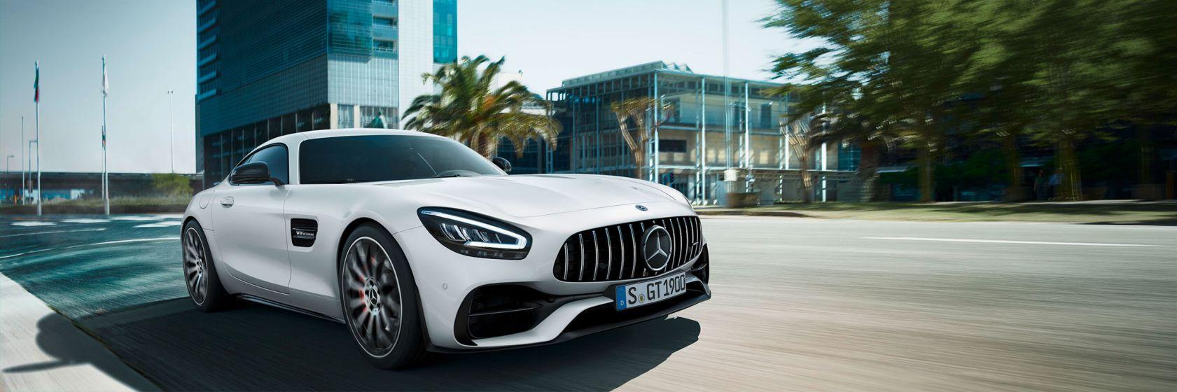 Mercedes-AMG GT купе