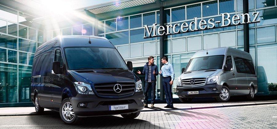 Сервісна програма лояльності для автомобілів Mercedes-Benz Sprinter!