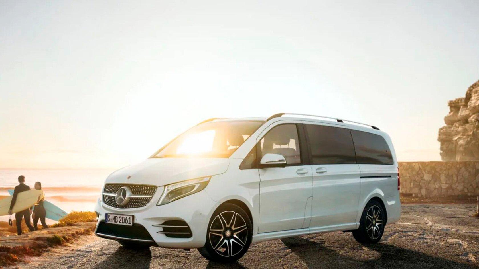 Акционные условия на Mercedes-Benz Vito и Mercedes-Benz V-Class